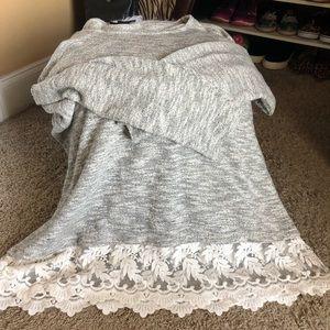 Lane Bryant 18/20 Lace Sweater